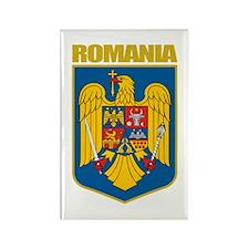 Romania COA Rectangle Magnet