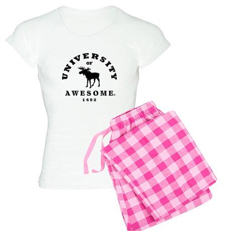 AWESOME UNIVERSITY Women's Light Pajamas
