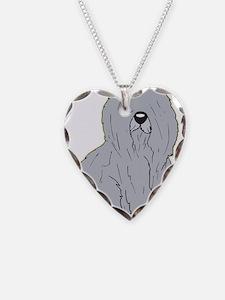 Old English Sheep Dog Necklace
