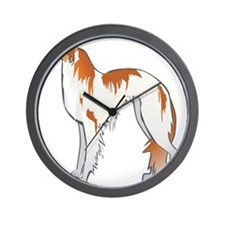 Russian Wolfhound Wall Clock
