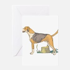 American Foxhound Greeting Card