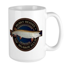 Large 50-inch Musky Club Mug