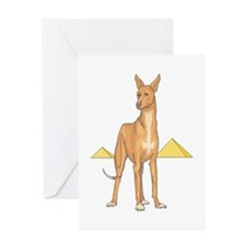 Pharoah Hound Greeting Card