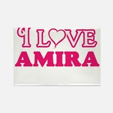 I Love Amira Magnets