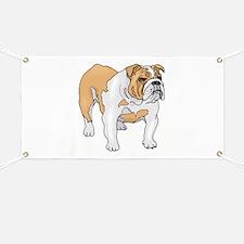 English Bulldog Banner