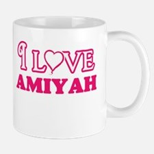 I Love Amiyah Mugs