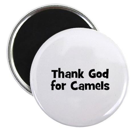 Thank God For Camels Magnet