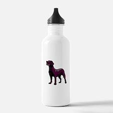 Black Lab Water Bottle