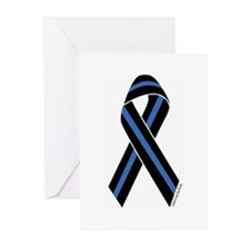 Remember Policevets Greeting Cards {6)