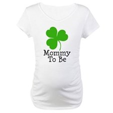 Shamrock Mom-to-Be Shirt