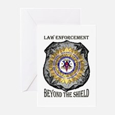 Beyond the Shield Policevets Greeting Cards (6)