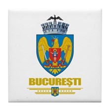 Bucuresti (Bucharest) Tile Coaster