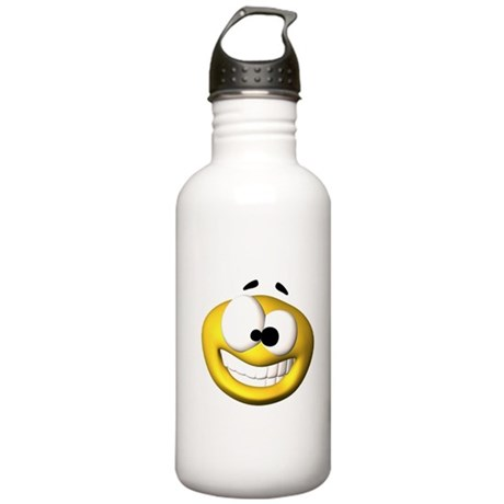 Goofy Happy Face Stainless Water Bottle 1.0L