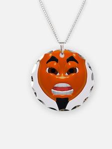Mean Devil Face Necklace