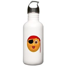 Oh No! Pirate Face Water Bottle