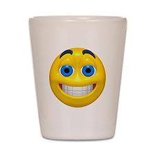 Happy Cheesy Face Shot Glass
