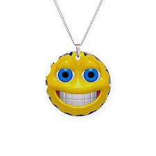 Happy Cheesy Face Necklace