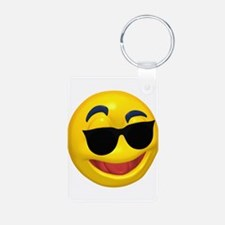 Cool Shades Face Keychains