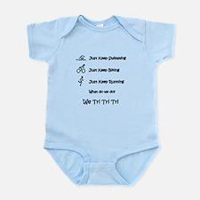 Just Keep Tri-ing Infant Bodysuit
