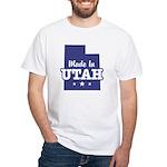 Made In Utah White T-Shirt