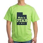 Made In Utah Green T-Shirt