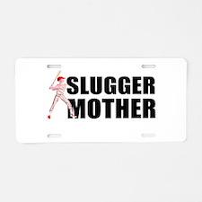 Slugger mother 2 Aluminum License Plate