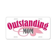 Outstanding MOM Aluminum License Plate