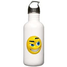 Up to No Good Face Water Bottle