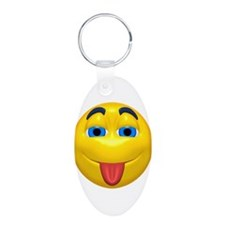 Cute Tongue Out Face Keychains