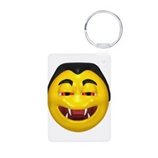 Laughing Vampire Face Keychains
