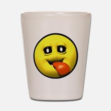 Window Licker Face Shot Glass