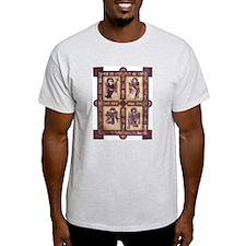 Gospels Page Ash Grey T-Shirt