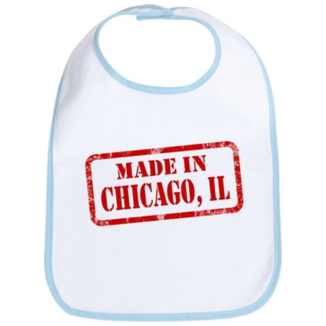 MADE IN CHICAGO, IL Bib