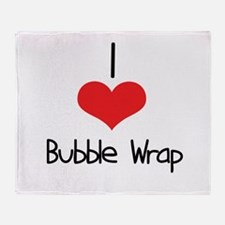 Bubble Wrap Throw Blanket