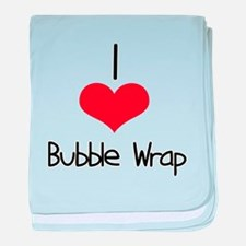 Bubble Wrap baby blanket