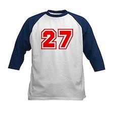 Varsity Uniform Number 27 (Red) Tee