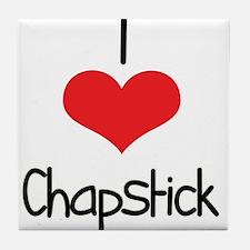 Chapstick Tile Coaster