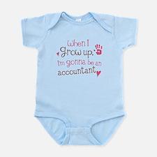 Kids Future Accountant Infant Bodysuit