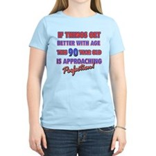 Funny 90th Birthdy designs T-Shirt