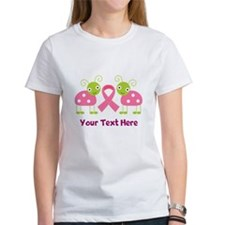 Personalized Breast Cancer Ladybug Tee