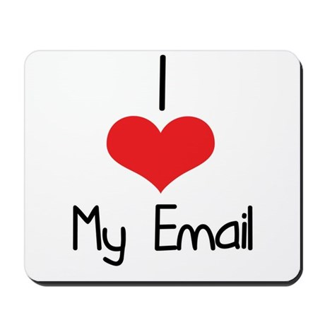 My Email Mousepad
