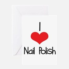 Nail Polish Greeting Card