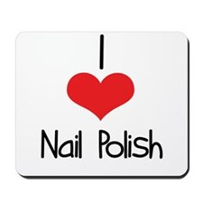 Nail Polish Mousepad