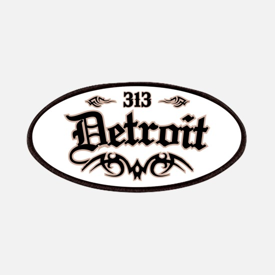 Detroit 313 Patches
