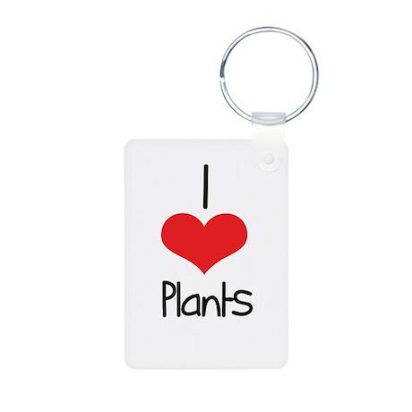 Plants Aluminum Photo Keychain