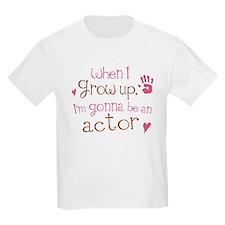 Kids Future Actor T-Shirt