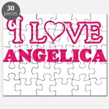 I Love Angelica Puzzle