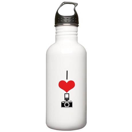 Camera Stainless Water Bottle 1.0L