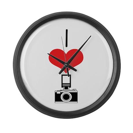 Camera Large Wall Clock