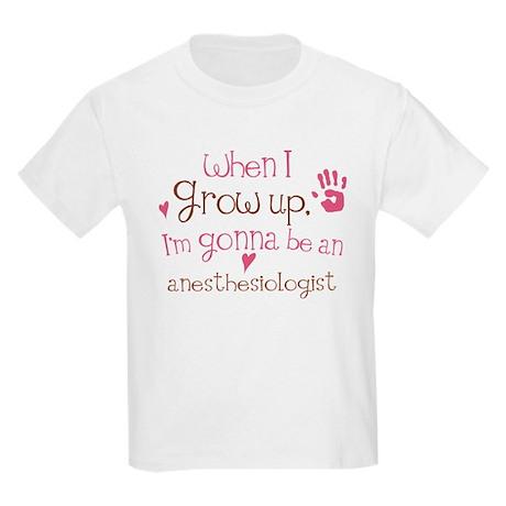 Kids Future Anesthesiologist Kids Light T-Shirt